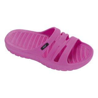 fashy Pantolette Badeschuhe Seafield, Farbe pink, Gr. 30-35