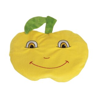 Habibi Plush Wärmekissen Zitrone (Lemon Duft) Kissen herausnehmbar,  Körnerkissen