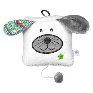 """fashy little Stars Spieluhr """"Hund"""", Melodie """"Lalelu"""", Größe ca. 12x10 cm"""