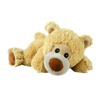 Warmies® Liegender Bär, Wärmestofftier/Wärmekissen