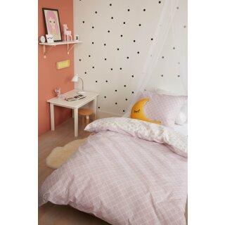 beddinghouse Kinder Bettwäsche, Nolah Soft Pink, Größe: 135x200/80x80cm