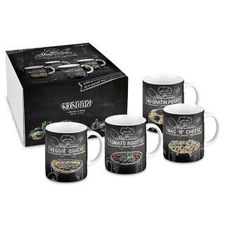 Könitz Mug Cuisine, Geschenkset, 4 Becher + Rezepte